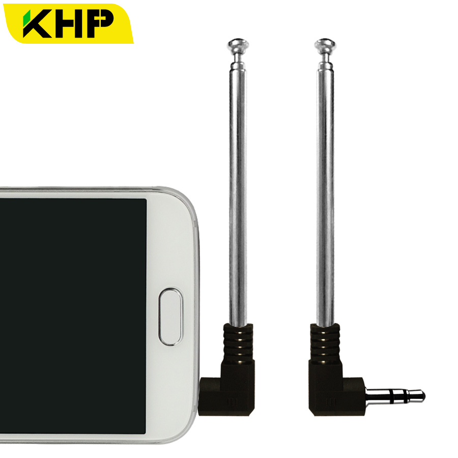 R Signal Booster 3.5mm 6DBI Jack External Antenna For Mobile Cell Phone SODIAL
