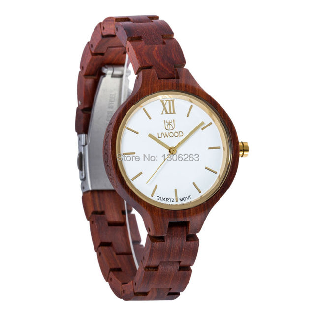 New Top Brand UWOOD Watch Wood Watches Women Unique Clock Women Wooden Watch Relogio Feminino Masculino  5