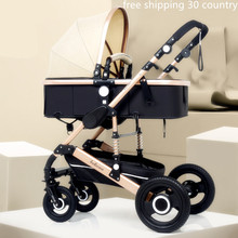 belecoo baby 2 in 1 high landscape strollers baby p