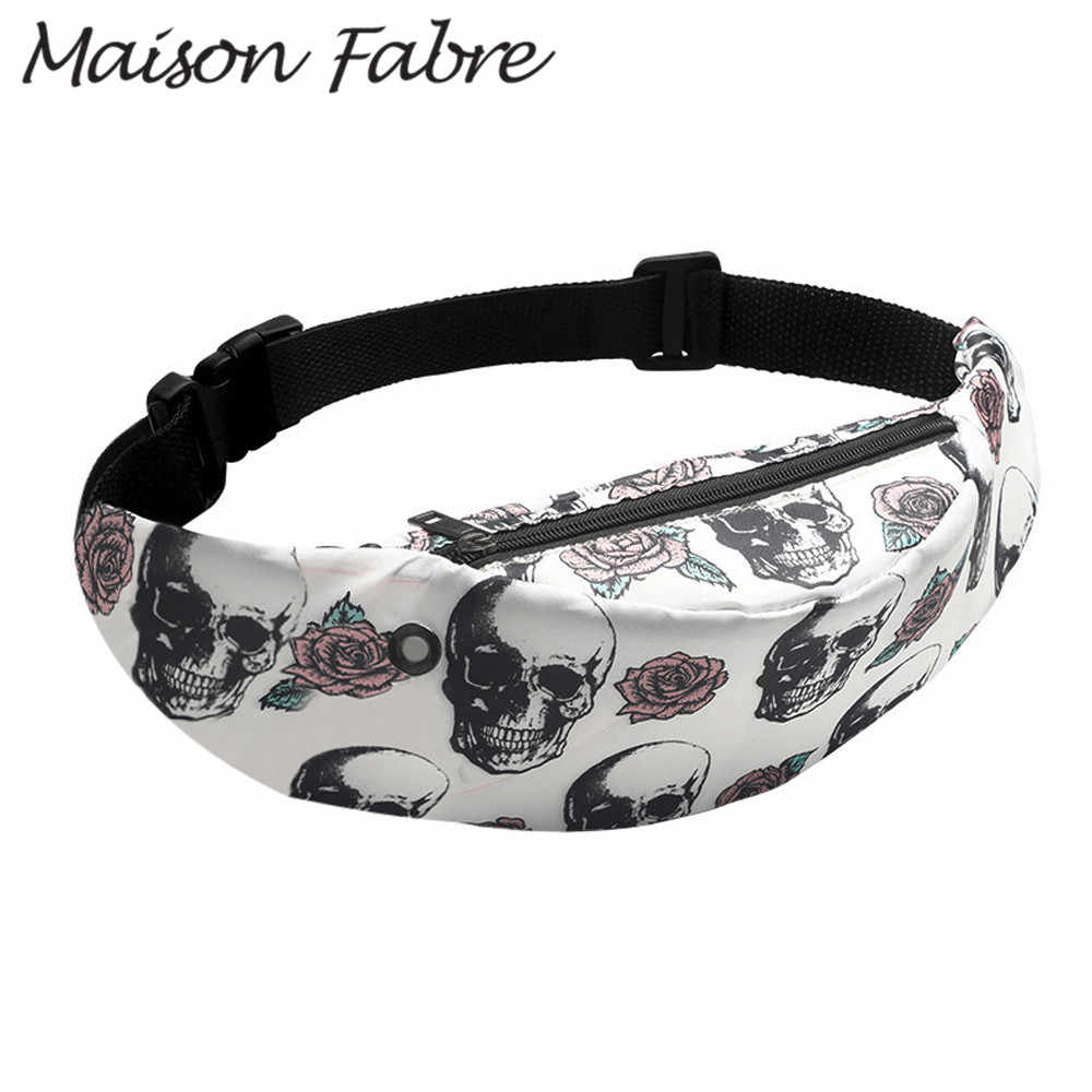 Maison Fabre Bag men women Nylon Chest bags cartoon Waterproof shoulder bags Straps 2019 Summer Fashion Ladies sports Belt bag