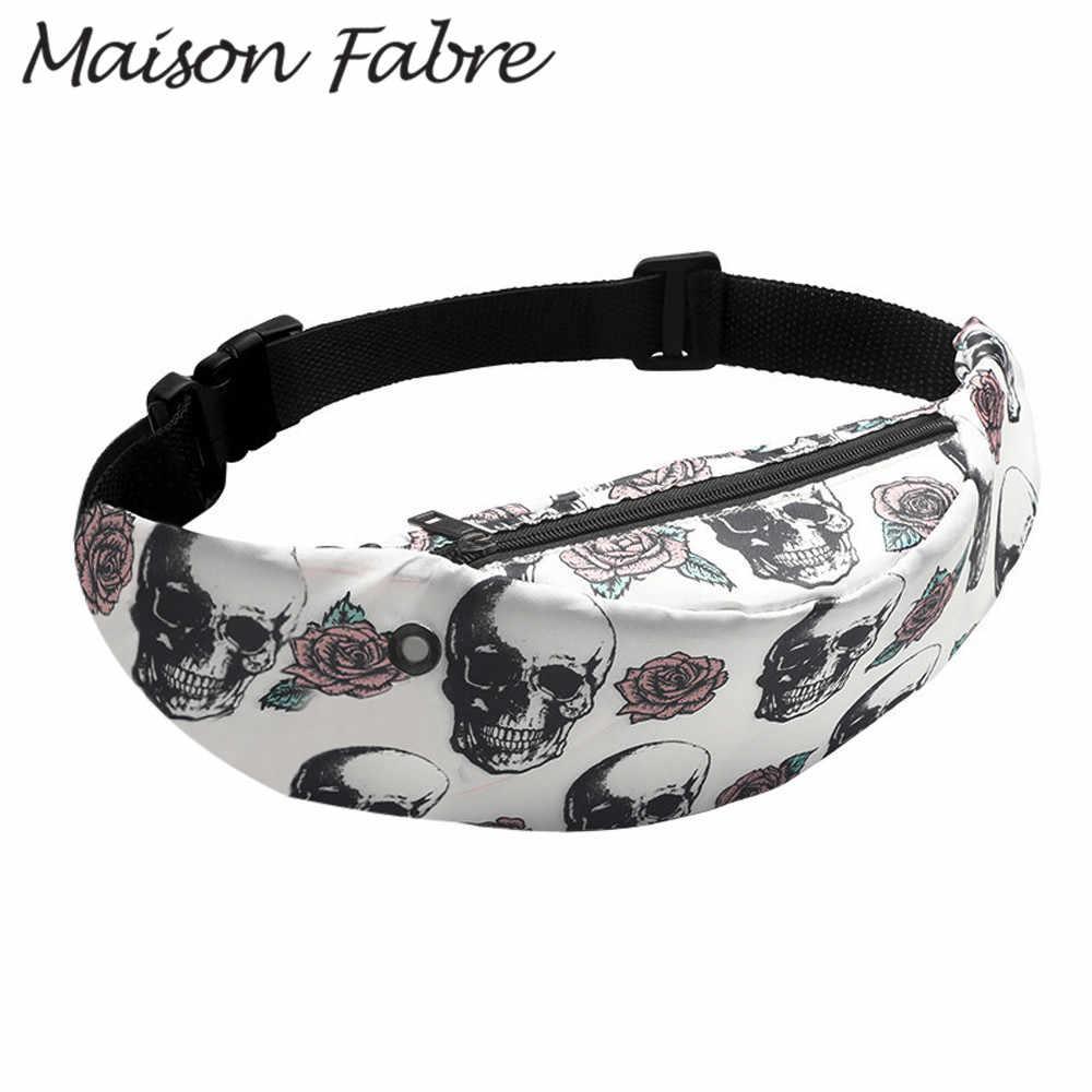Maison Fabre Saco sacos de desenhos animados das mulheres dos homens de Nylon No Peito À Prova D' Água saco de sacos de ombro Cintas Cinto Senhoras Da Moda Verão 2019 esportes