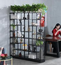 Creative Tieyi Restaurant Sitting on Rack Office Separating Handicraft Display Shelf, Bookshelf, Bar and Wine Cabinet
