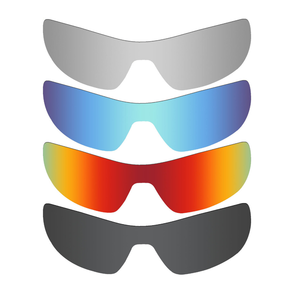 1cec37e31c 4 Pieces Mryok POLARIZED Replacement Lenses for Oakley Offshoot Sunglasses  Stealth Black   Ice Blue   Fire Red   Silver Titanium-in Accessories from  Apparel ...