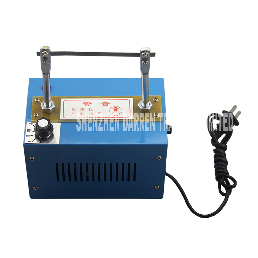 New JC-3 Thermostat eagerly cutting machine 220V 50W eagerly ribbon lace trademark cutting machine send with 5 blades + 5 fuses