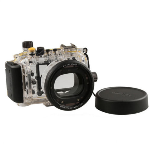 Waterproof Underwater Housing Camera Housing Case Meikon for canon Powershot S120 as WP-DC51 meikon underwater diving camera waterproof housing case for canon g15 as wp dc48