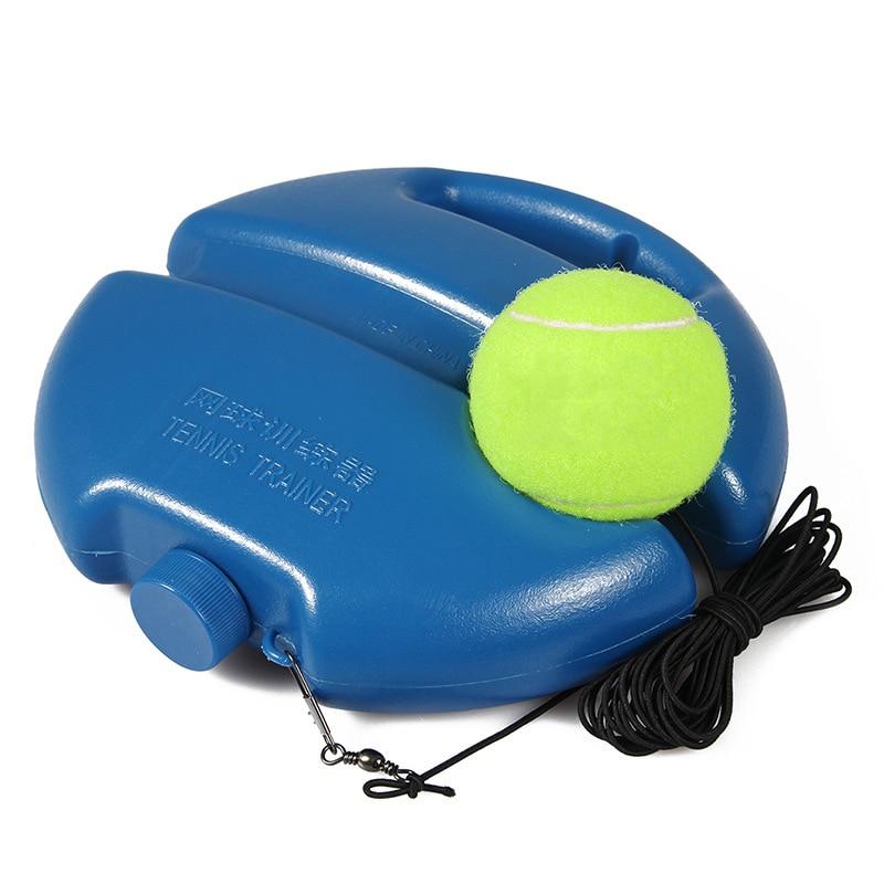 Tennis Trainer Tennis Ball Singles Racket Training Practice Balls Back Base Trainer Tool String Elastic Rope Exercise