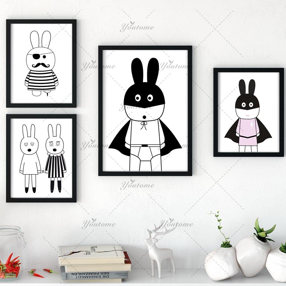Nuevos Cuadros decorativos cartel Arte para niños habitación Bebé ...