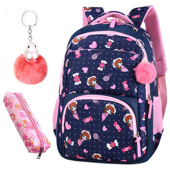 Printing School Bags Backpack Schoolbag Fashion Kids Lovely Backpacks For Children Girls School Student Mochila Teenager Bagpack fengdong brand fashion black mini backpack for girls school bags children backpacks kids bag cute small backpack female bagpack