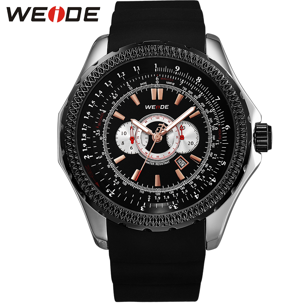 ФОТО 2015 WEIDE JAPAN Miyota 2115 Fashion Men Quartz Watch Brand relogio masculino Complete Calendar Sport Watch 12-Month Guarantee