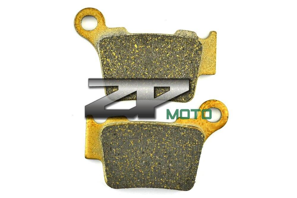 Organic Kevlar Brake Pads For KTM XC/EXC 400 2004-2007 XCF-W 350 (Diaphragm Clutch Spring) 2012-2014 Rear OEM New High Quality brake pads organic kevlar for cbr 600 f4 f4i 1999 2006 cbr 600rr 2003 2004 cb 1100 nonabs 2013 2014 front oem new high quality