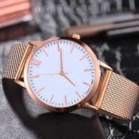 Luxury Watch Women Dress Bracelet Watch Women Silica Gel Mesh Belt Casual Watch Geneva Simple Fashion 2020 Mesh Belt Watch Q