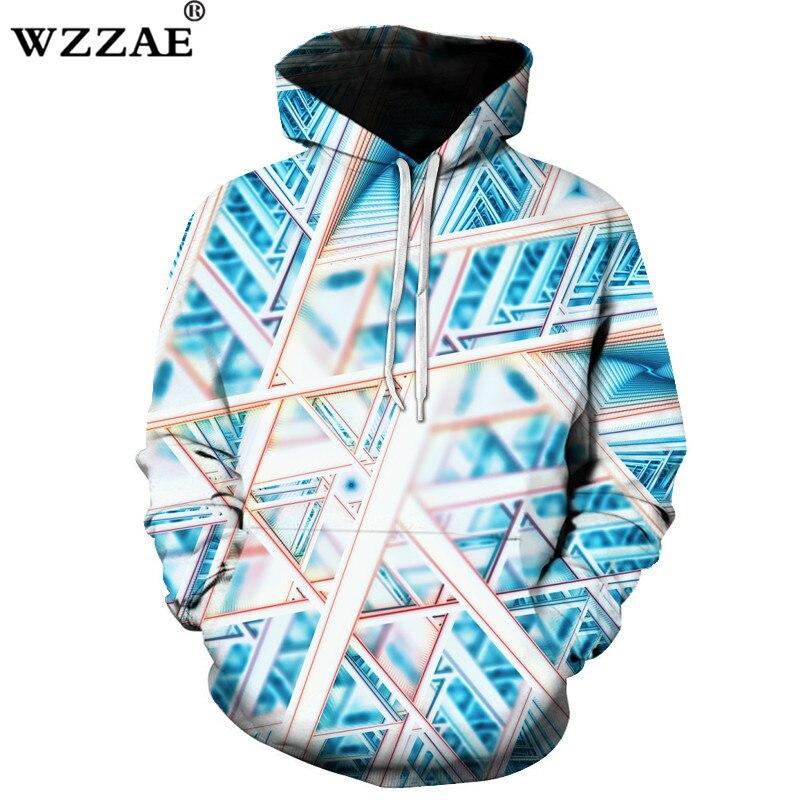 2018 New Design Novelty 3D Hoodies Printed Men Women Sweatshirts Hooded Pullover Autumn Pocket Jackets Quality Loose Hoodies