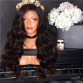full hand 28 inch gluesless synthetic lace front wig black wigs heat resistant synthetic lace front wig with baby hair