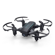 Мини-Дрон с камерой 0.3MP 2,4G RC Дрон игрушки для детей Профессиональный FPV Wifi микро Квадрокоптер Безголовый режим