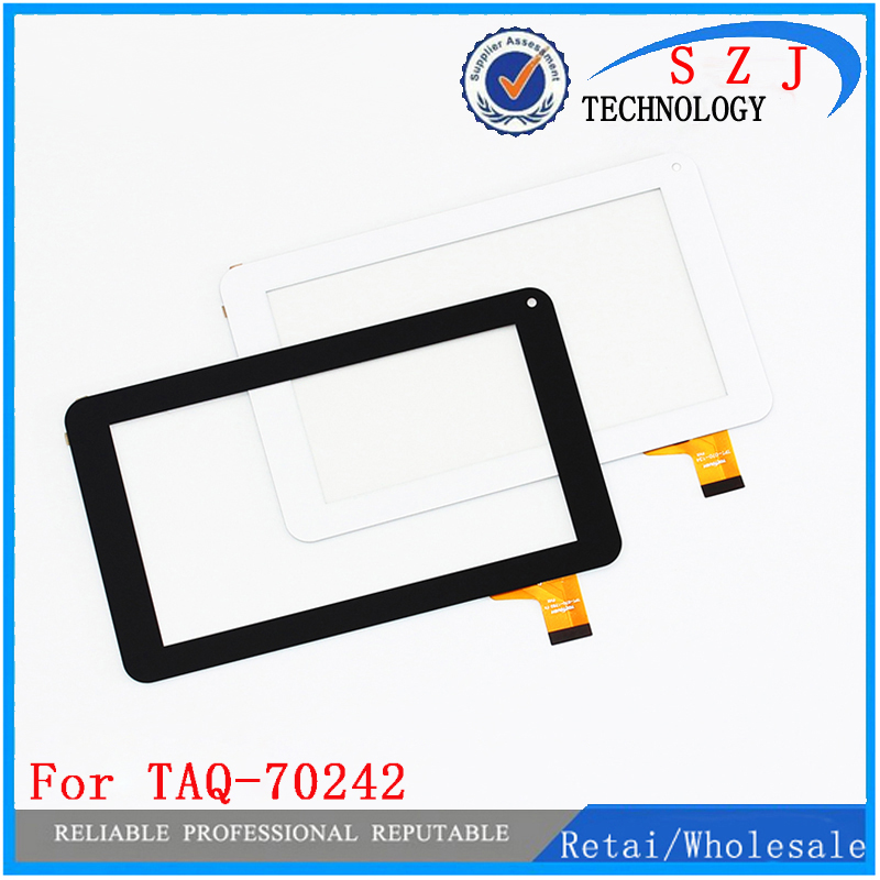 New 7'' inch For denver TAQ-70242 TAQ - 70242 Tablet touch screen panel Digitizer Glass Sensor replacement Free Shipping 7 9 inch tablet pc screen for autel maxisys mini ms905 touch screen panel digitizer sensor replacement free shipping