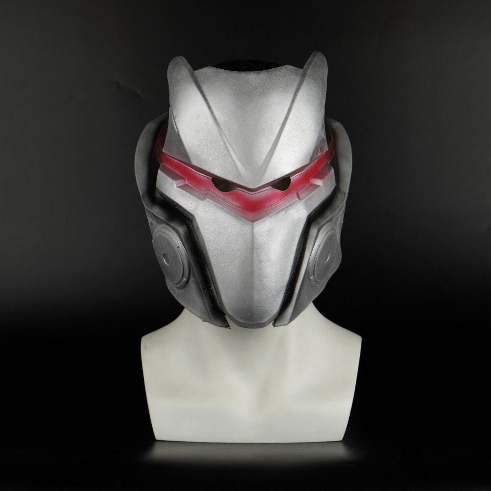 Game Fortniter Omega Mask Drift Cosplay Latex Helmet Omega Halloween Party Dropshipping (18)