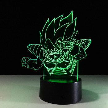 3D Animation Film and Television Characters LED Model Model LED Creative Gift Indoor Decorative LED Lights Furnishing Articles