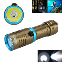 Tactical Waterproof 100m 6000LM XML L2 LED SCUBA Diving Flashlight Torch Lamp Underwater
