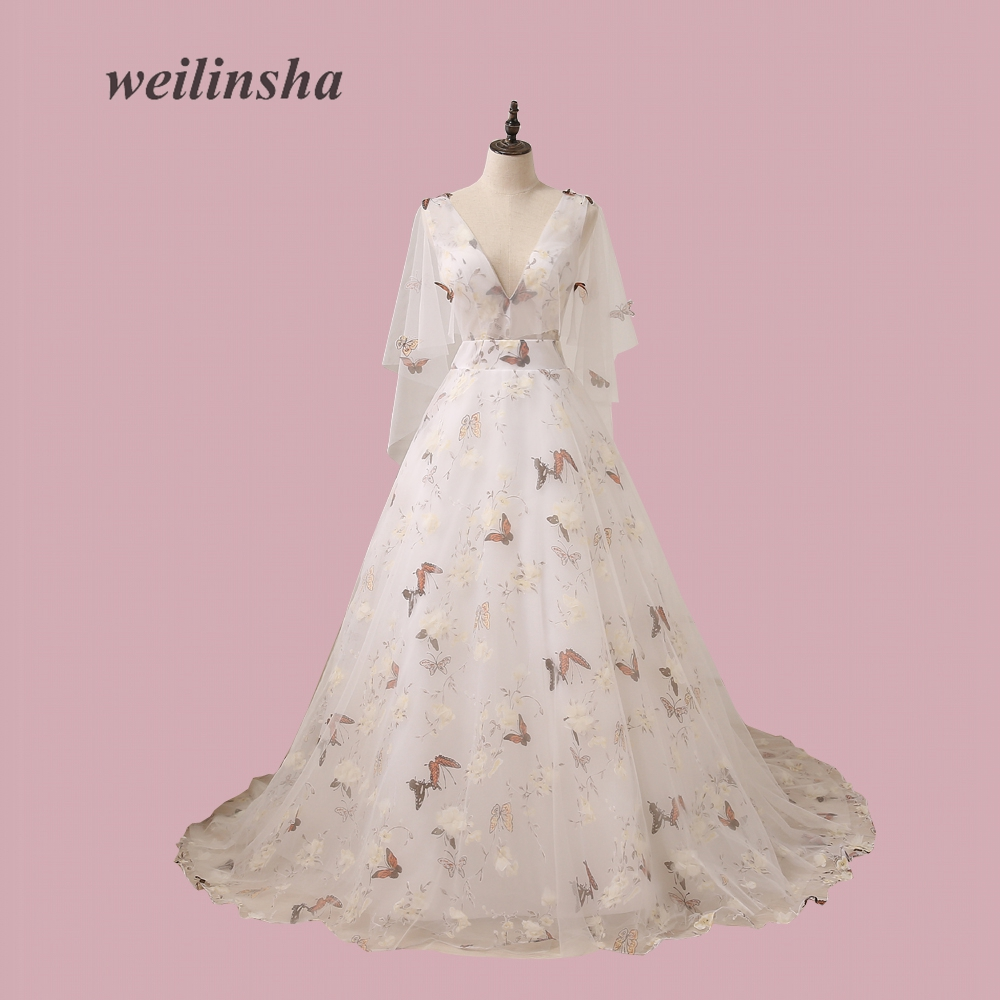 Venta caliente 3D mariposa apliques vestidos de bola Vestidos de ...