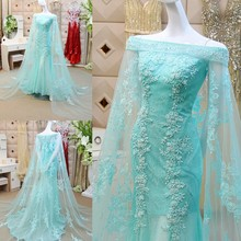 цена boat neck sky blue lace long mermaid evening dress 2015 new hot sexy cap sleeve robe de soiree vestido de festa prom dresses