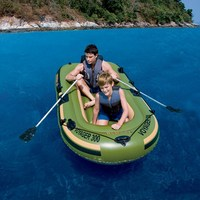 65051 Bestway Voyager 300 outdoor assault boat/kayak fishing boa/243*102cm(96*40) inflatable rubber Sporting boat w
