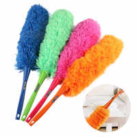 Removable And Washable Microfiber Dust Mites 360 Degree Curved Soft Dust Brush Anti-static Brush Dust Collector Car Scorpion