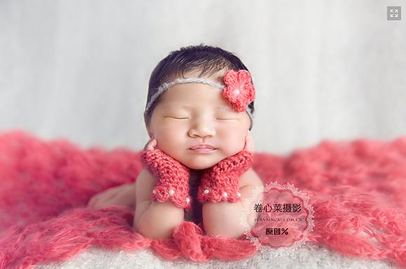 Cute Wholesale Handmade Crochet Mohair Baby Wrap Newborn Photography