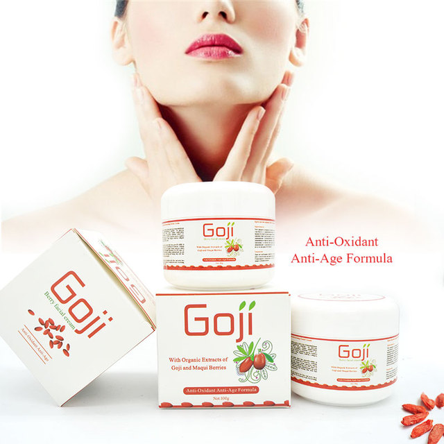 New Hyaluronic acid anti oxidant goji berry eye revitalizing cream face cream wolfberry medlar anti wrinkle best ageless cream