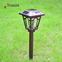LED Solar Powered Flickering Flame Light Torch Lamp Waterproof Decorative Lamp For Outdoor Garden Path Lawn Lamp Energy Saving все цены