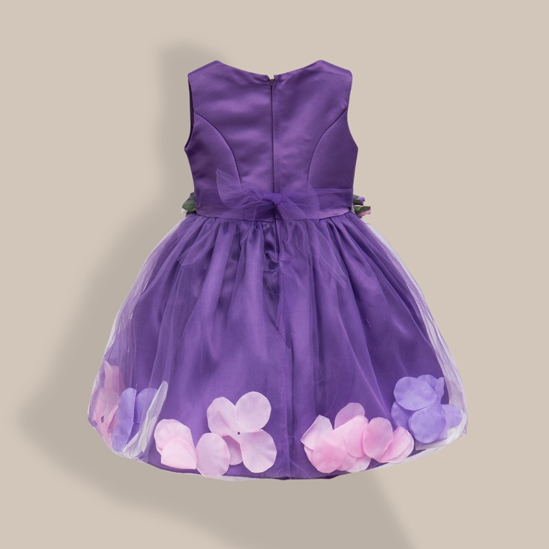 AiLe Rabbit  New Girls Wedding Dress Petal Flower Party Dress - Children's Clothing - Photo 6