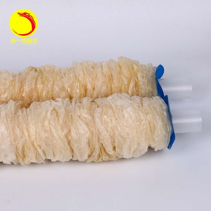 DIYIMING salsiccia imballaggio involucro diametro 55mm, lunghezza 16 m involucro, copertura salsiccia, salsiccia alla griglia che fanno