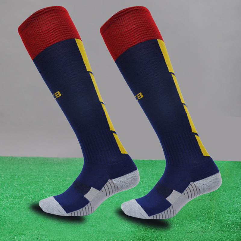 Sports Cotton Kids Socks Kids Soccer Socks Thick Knee High Long Football Socks for 7 to 12 Children Boys Years все цены