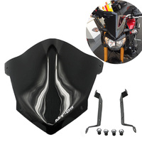 MT 09 2014 2015 2016 Motorcycle Windshield ABS Plastic Windscreen with Mount Screws Bracket for Yamaha MT 09 MT09