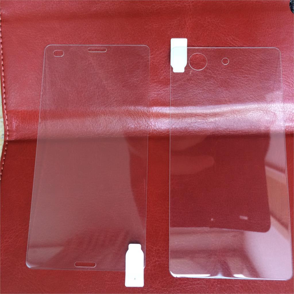 2 հատ * (առջև + հետևի) Xperia Z3 mini Unitech 9H 0.2 մմ - Բջջային հեռախոսի պարագաներ և պահեստամասեր - Լուսանկար 4