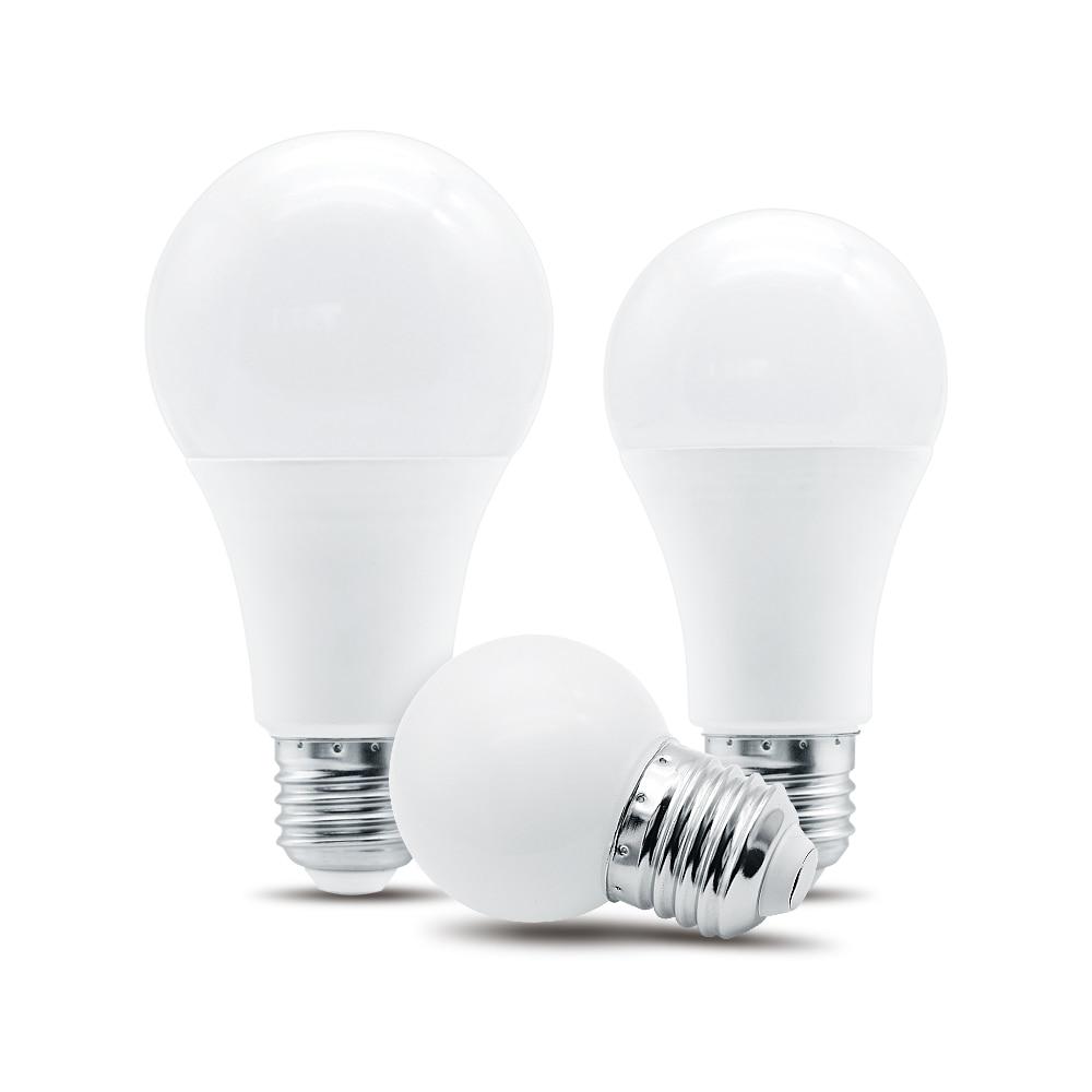 LED E27 Light Bulb AC 220V 230V 240V 3W 6W 9W 12W 15W 18W 20W Energy Saving Led Lamp Cold White Warm White Lampada