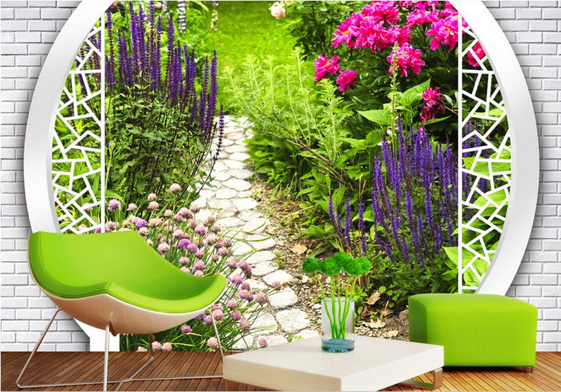 Chinese Photo Wallpaper 3D Wall non-woven Wallpaper landscape For Living room 3D Bedroom Wallpaper Walls non woven bubble butterfly wallpaper design modern pastoral flock 3d circle wall paper for living room background walls 10m roll