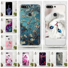 For Huawei Y7 2018 Case For Huawei nova 2 lite Cover Phone Funda For Huawei Honor 7C Case for Enjoy 8 Cover Y7 Prime 2018 Capa(China)