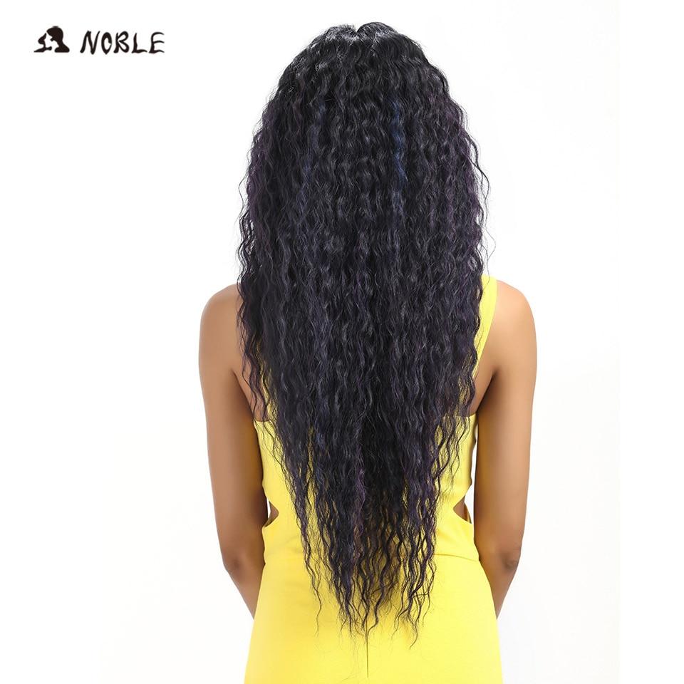 Noble Hair Products Wig 28 tum lång vågig Cosplay Elastic Kanekalon - Syntetiskt hår - Foto 3