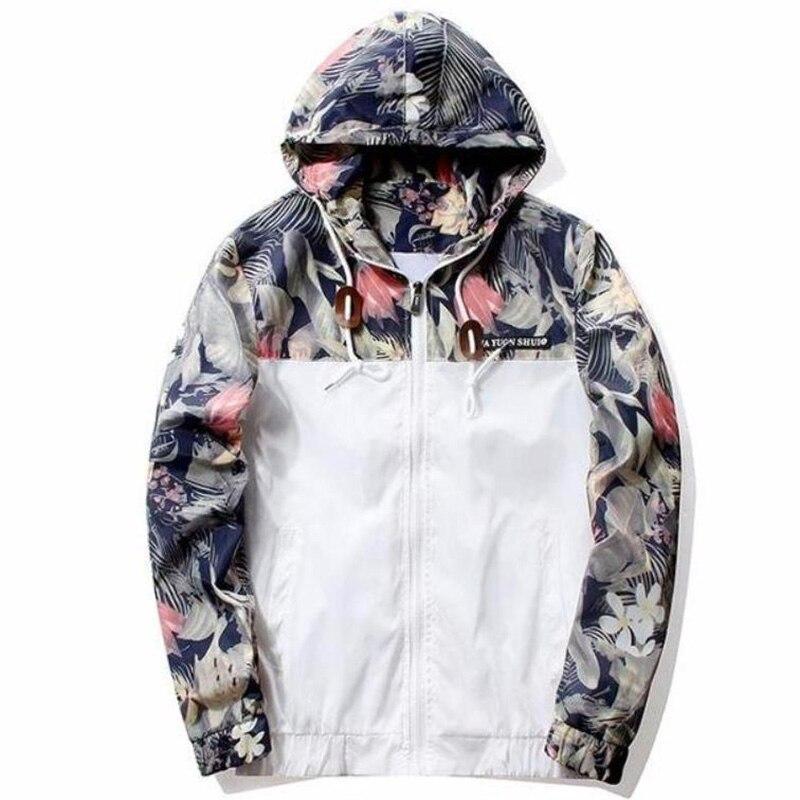 Drop Shipping Florals Bomber Jacket Men Hip Hop Slim Fit Flowers Pilot Jacket Coat Men s Drop Shipping Florals Bomber Jacket Men Hip Hop Slim Fit Flowers Pilot Jacket Coat Men's Hooded Jackets US Size Free Shipping