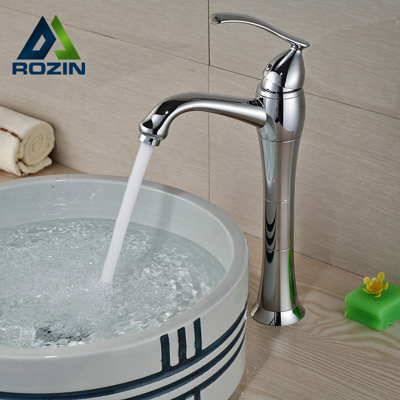 Polished Chrome Brass Deck Mount Basin Sink Faucet Single Handle/hole with Hot and Cold Pipe micoe hot and cold water basin faucet mixer single handle single hole modern style chrome tap square multi function m hc203