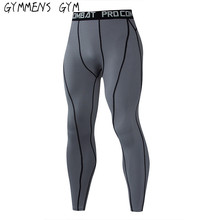 2018 Running Tights Men Compression Pants Tights Workout Leggings Running Sports Skinny Gym Male Trousers Fitness Pants running tights
