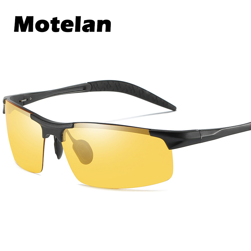 Day Night Photochromic Polarized Men's Sunglasses for Drivers Bike Riding Cycling Driving Fishing Outdoor Sports UV400 Glasses image