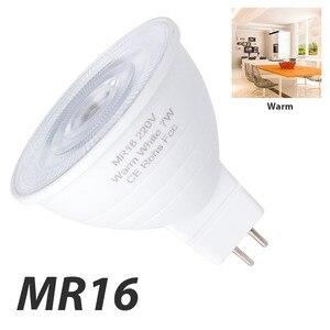 Image 2 - CanLing GU10 LED 220V Spotlight Bulb Corn Lamp MR16 Spot light Bulb LED gu5.3 SMD2835 Bombillas led 240v Ampoule 5W 7W Lampada