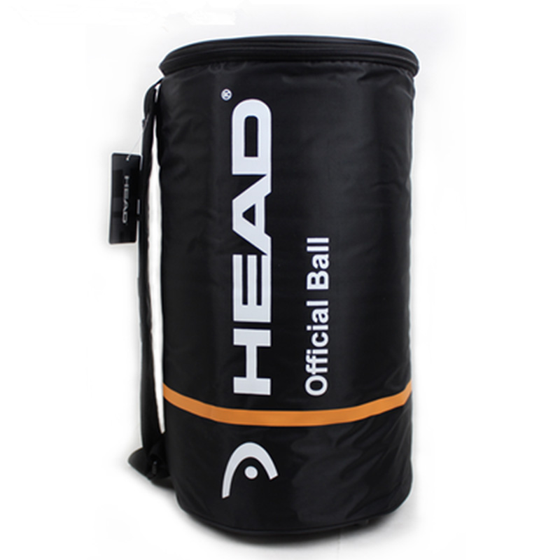 Head Tennis Ball Bag Single Shoulder Tennis Racket Bags Large Capacity For 60-100pcs Balls Outdoor Sports Training Accessories image