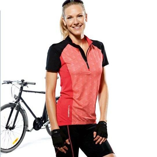e6ec2daba Crivit ride service t shirt a46 cycling jersey bicycle cloth short cycling  jersey summer women cycling jersey free shipping-in T-Shirts from Women s  ...