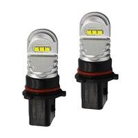 2x Xenon Blanc 30 W P13W LED Ampoules DRL Pour 2008-12 Au di B8 modèle A4 ou S4 Blanc Rouge Bleu Jaune Vert, led p13