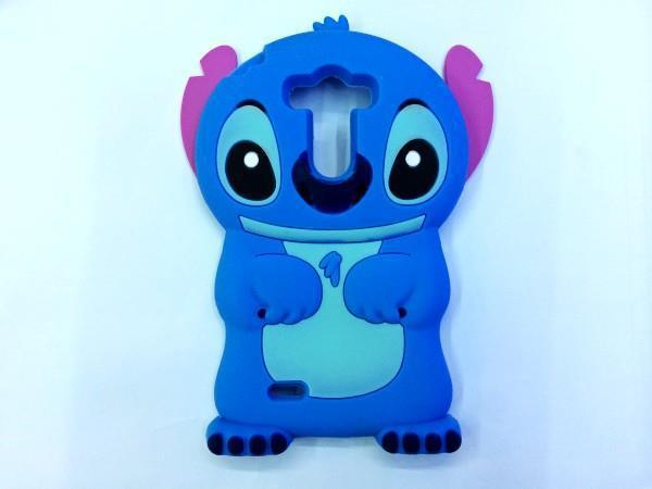 Hot Cute Cartoon 3D Stitch Soft Silicone Case Rubber Phone Back Cover LG G3 D855 D850 g 3 - Made In China Centre store