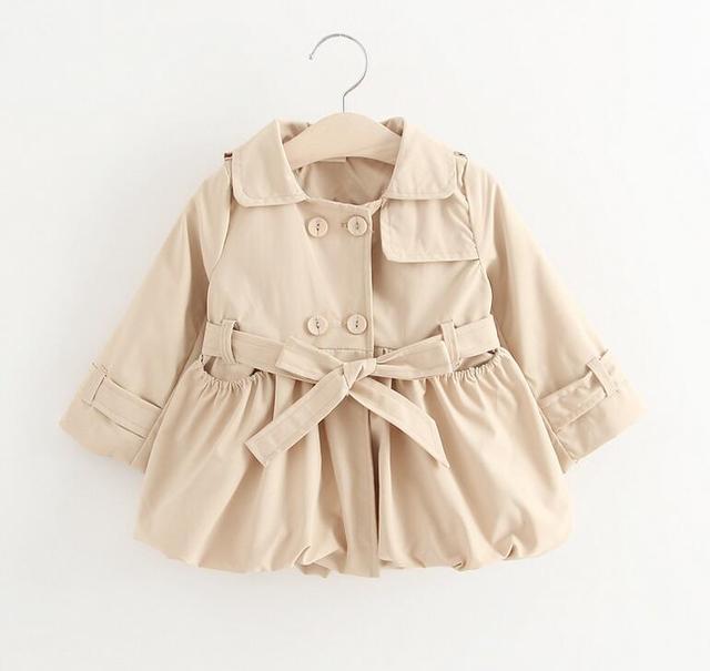 La niña de la chaqueta, otoño primavera, baby girl clothing, bebé abrigos, bebé ropa de abrigo del viento, niños ropa de la muchacha, para 9 m-24 m