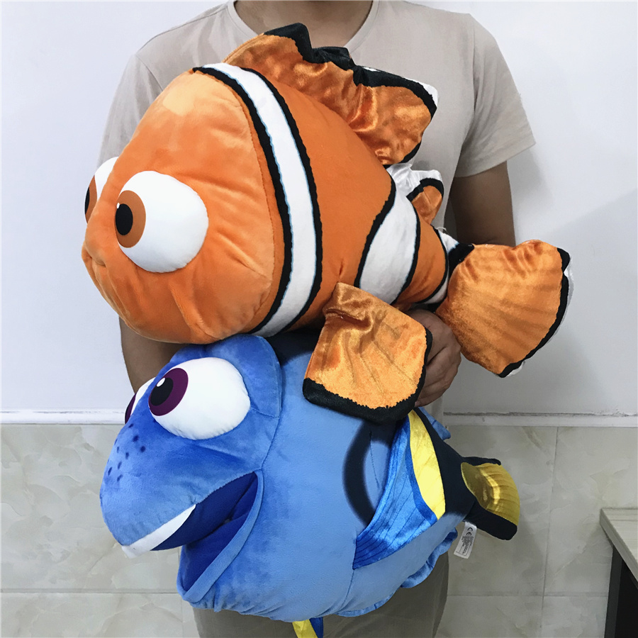 1pc 55cm=21.5inch Huge Big Size Finding Dory Plush Fish Clownfish Nemo And  Dory Cartoon Anime Plush Soft Toys For Kids