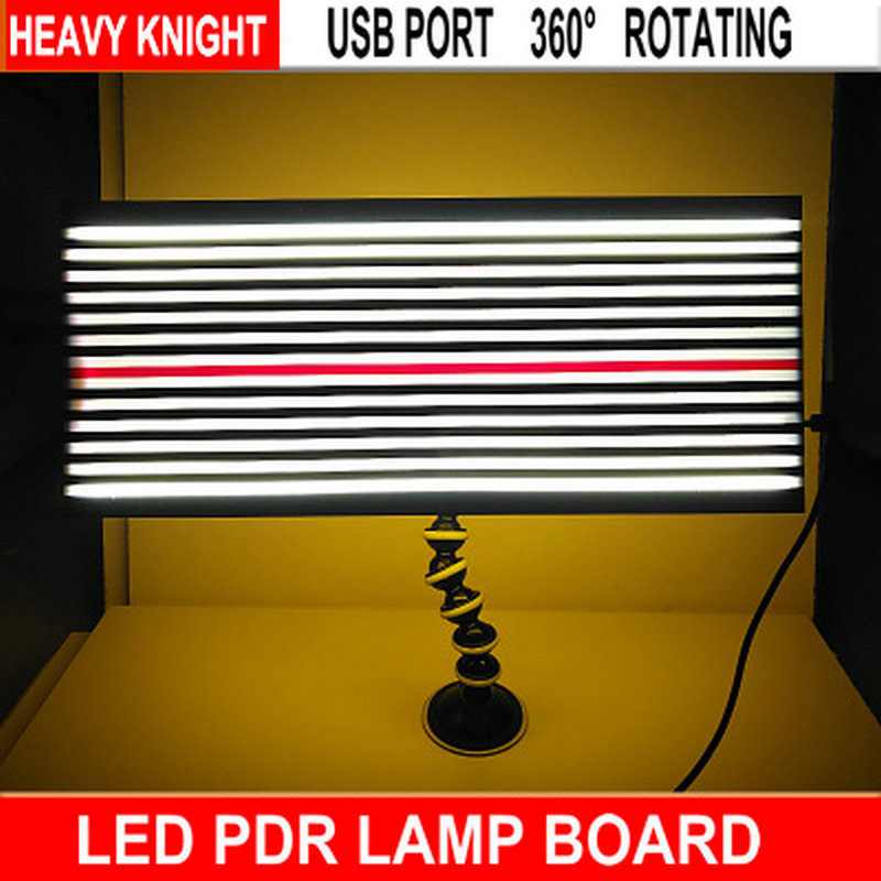 LED PDR Lamp Dent Repair Tools Dent Detector -PDR light master with Ajustment Holder PDR kit lamp board PDR line Board